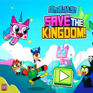 UniKitty Save the Kingdom Game.