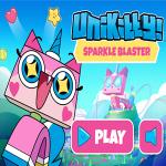 UniKitty Sparkle Blaster Game.