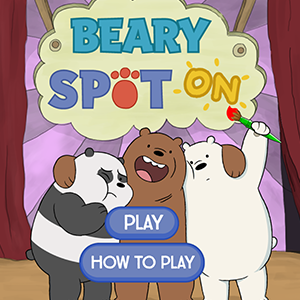 We Bare Bears Beary Spot On.