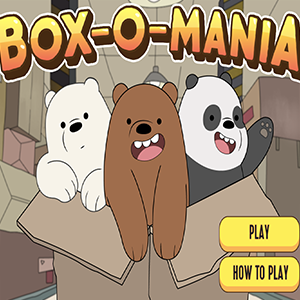 We Bare Bears Box O Mania.