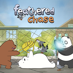 We Bare Bears Feathered Chase.
