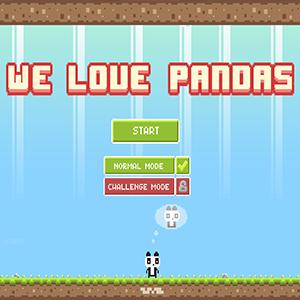 We Love Pandas.