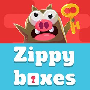 Zippy Boxes Game.